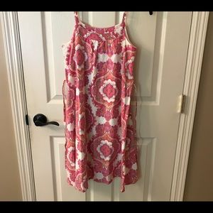 Gap Girls' Pink Paisley Dress 🌸